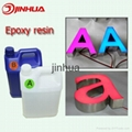 Colorful Epoxy Resin Illuminated LED Channel Letter 5