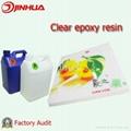 Liquid Clear Epoxy adhesive for Photo