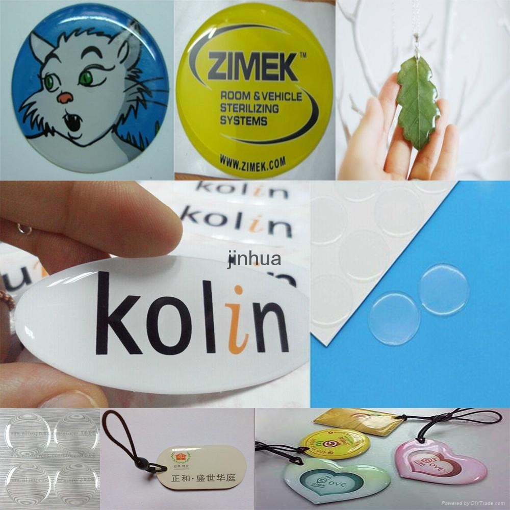 Soft Flexible Epoxy Resin for 3D Sticker Luggage - 608AB