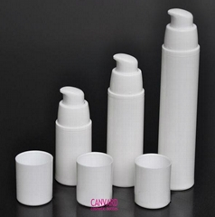 Airless bottle, airless pump bottle, airless cosmetic bottle