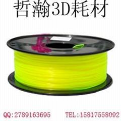 厂家直销批发 欧标环保优质HIPS材质3D打印耗材