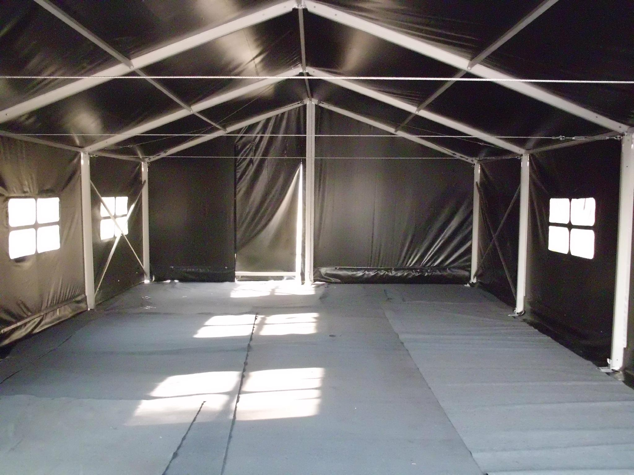 Military Tent Warehouse Structures Temporary Structures Inflatable ...