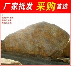 湖州水池包邊大型黃臘石