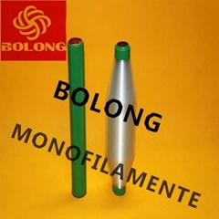 polypropylene monofilament yarn dyed yarn for webbing plastic bobbin or paper bo