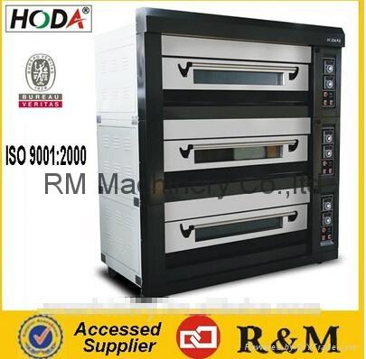 Pita bread oven three deck nine trays electric bread oven arabic bread oven 1