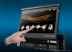 "7"" ONE DIN CAR DVD GPS SYSTEM"