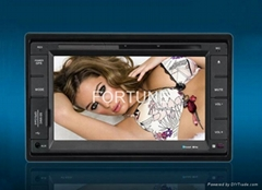 "6.2"" TWO DIN CAR DVD GPS SYSTEM"
