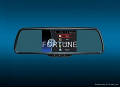 "5"" All in one Rearview mirror multimedia monitor"
