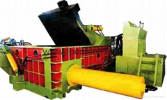 hydraulic metal scrap baling machine