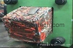 metal scrap baler