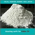 Activated bleaching earth for refining