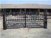 decorative casting entrance iron gate