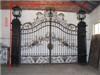 Wrought iron gates garden gate