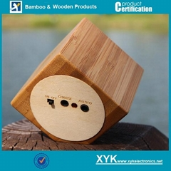 Newest wood speaker, wood mini speaker, portable mini speaker for iPhone 6