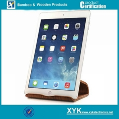 Manufacturer Polishing Tablet PC Universal Wood Support Made in China