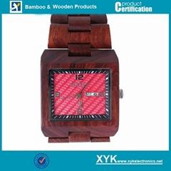 Europe quartz wood watch, wood clock, wooden wrist watch (Hot Product - 1*)