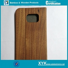 Samsung S6 flip case in full wood mobile cover (Hot Product - 1*)