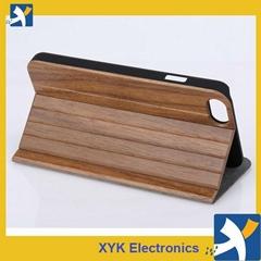 iPhone 6 & 6 Plus full wood flip case, wood cases