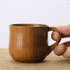 China element wooden artwork tea cup, wooden cup