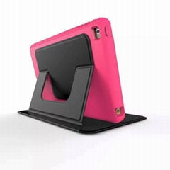 iPad mini leather case stand 100% protection