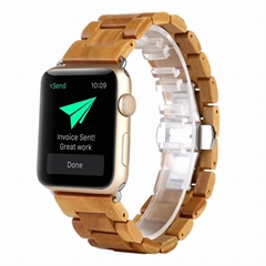 Apple Watch wooden strap, wooden band series (Hot Product - 1*)