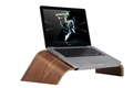 Customized laptop wooden stand