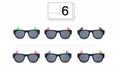 Silicone slap band sunglasses