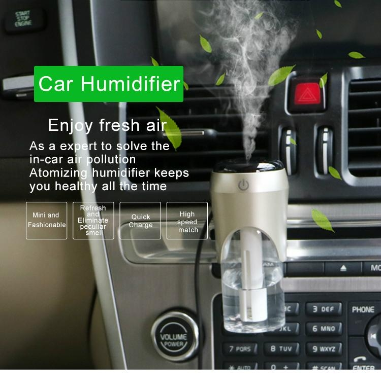Smart car Charger/Humidifier