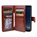 Multiwallet case detachable phone case with card slots