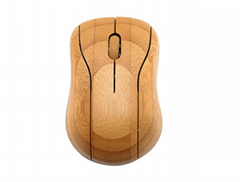 Bluetooth bamboo keyboard and mouse