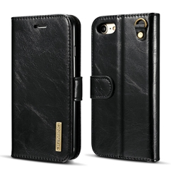 Genuine microfiber leather wallet magnetic case