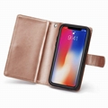 iPhone X smart case 9 card slots wallet