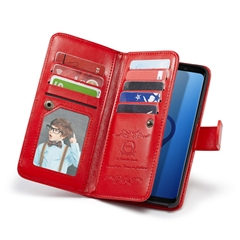 Galaxy S9 & S9+ Wallet Case with 9 card slots