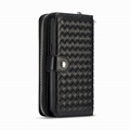 Wallets+Phone Case for Galaxy S9 & S9+ Zipper Button Wallet Cover