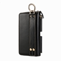 First Class Genuine Cow Leather 6.3 inches Universal Phone Wallet Case