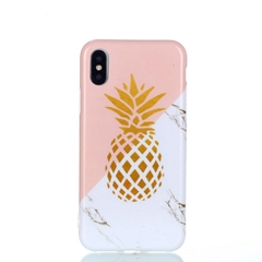 Apple iPhone X TPU Marble Case Cheap Price