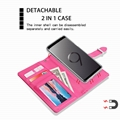 Samsung Galaxy S9 Two-in-One Removable Purse Wallet Case 4