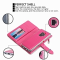 Samsung Galaxy S9 Two-in-One Removable Purse Wallet Case 7
