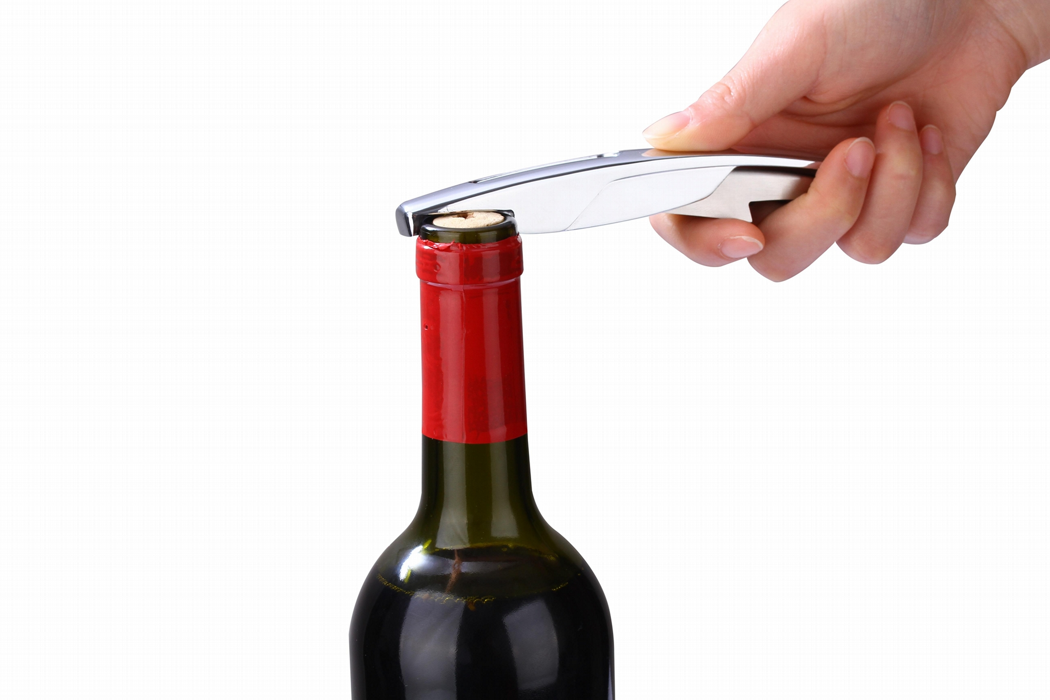 Wine Accessories Bottle Opener Wine Bottle Stopper Cork 1