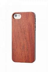 Eco-friendly PC bamboo wooden mobile phone case