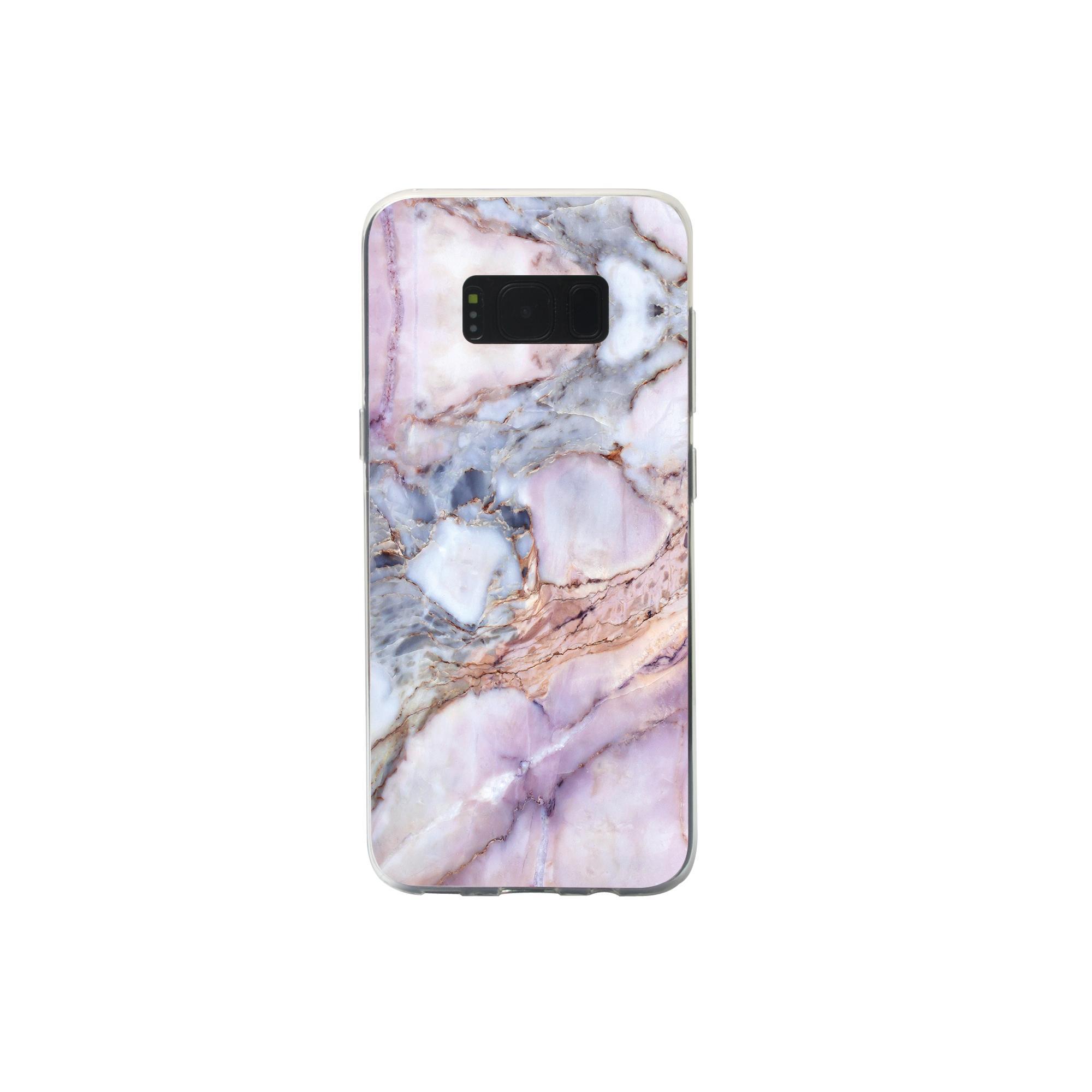 IMD Samsung Galaxy S8 Glossy Soft Marble TPU Case 1