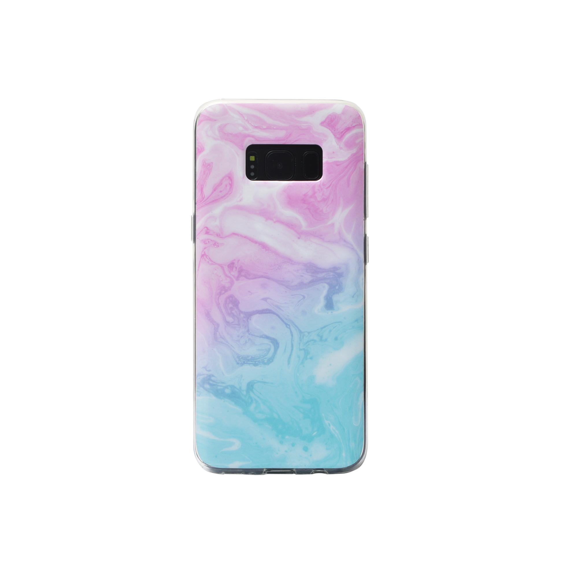 IMD Samsung Galaxy S8 Glossy Soft Marble TPU Case 2
