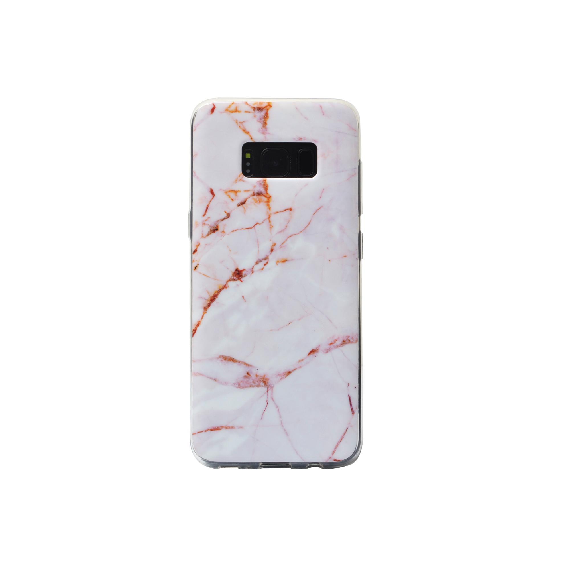 IMD Samsung Galaxy S8 Glossy Soft Marble TPU Case 3