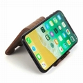 Wooden mobile phone holder, S two sides mobile scaffold