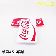 苹果6 plus手机壳 iphone6手机保护套 来图定制 可口可乐 IMD