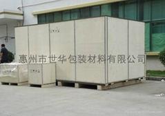 供應重型設備鋼帶木箱