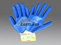 Labor Safety Nitrile Coated Gloves