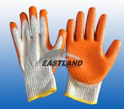 Labor Safety Latex Coated Nylon Gloves 1