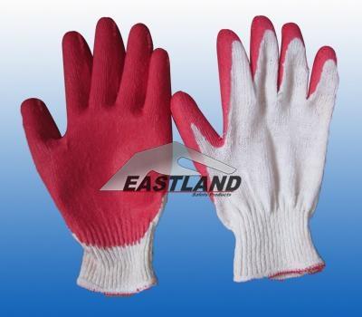 Labor Safety Latex Coated Nylon Gloves 4