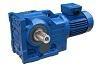 K series helical bevel gearbox